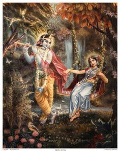 Krishna & Radha I'm kinda obsessed with their love story bc it is US!