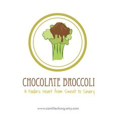 Logo Design for Chocolate Broccoli by Camille Chung