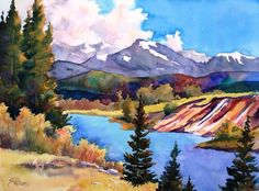 Watercolor Workshop: Landscape Painting Techniques from Sharon Lynn Williams on http://ArtistsNetwork.tv.