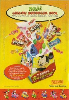 Surpresa Box Nestlé #nostalgia #infância