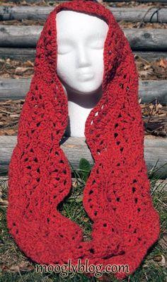 Autumn Sunset Infinity Scarf: free #crochet pattern from mooglyblog.com