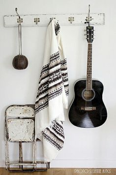 ethnic fabrics by the style files, via Flickr #guitar #homedecor #midwestern #western #southwestern