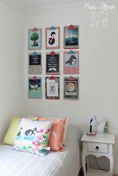 DIY - pranchetas decoradas