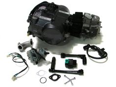 Lifan 125cc 1P52FMI-K Engine Dirt Bike Motor Carb Complete for Honda XR50 CRF50 XR CRF 50 70 ATC70 Z50 CT70 CL70 SL70 XL SDG Dirt Pit Bike Motorcycle TMS. For those of you who are unaware Lifan=Honda....literally. If you go to the Honda dealership and buy a CRF50, CRF70, TRX90 you are buying a Lifan. Think of any horizontal engine Honda from the past and how great it was. It was/is a Lifan. http://www.amazon.com/dp/B004Q1Z8JM/ref=cm_sw_r_pi_dp_u3wltb02FY3ED9CW