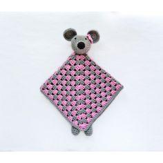 Souris Doudou Crochet Pattern
