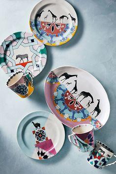 Narrative Dessert Plate