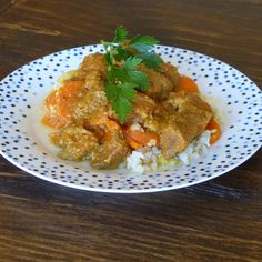 Recipe Creamy beef curry with cauliflower rice (kid friendly) by thermosimsa - Recipe of category Main dishes - meat