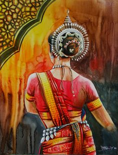 What is Your Painting Style? How do you find your own painting style? What is your painting style? Dancing Drawings, Art Drawings Sketches, Cool Drawings, Bts Drawings, Pencil Drawings, Indian Women Painting, Indian Art Paintings, Dance Paintings, Mural Painting