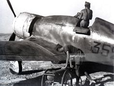 An Italian Fiat G.50 (352nd Fighter group) at Derna in Libya. The Fiat G.50 Freccia ('Arrow') was a World War II Italian fighter aircraft.