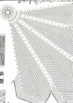 ru / Фото - Serwetki duze i male-szydelko - him Diy Crafts New, Diy Crafts Crochet, Crochet Table Runner, Crochet Tablecloth, Lace Doilies, Crochet Doilies, Crochet Motif Patterns, Knitting Patterns, Filet Crochet