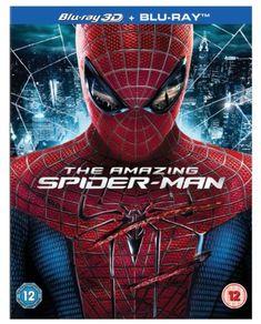 The Amazing Spider-Man (Blu-ray 3D + UV Copy) [2012] 4****
