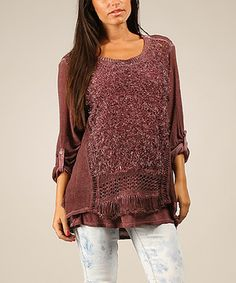 Another great find on #zulily! Plum Elinor Sweater by Charlotte&Louis #zulilyfinds