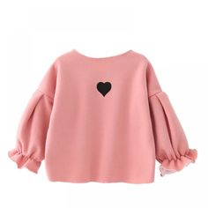 Baby Mädchen Sweatshirt Kinder Kinderkleidung, You are in the right place about Children Clothing model Here we offer you the most beautiful pictures Baby Outfits, Kids Outfits Girls, Cute Sweatshirts For Girls, Puff Girl, Fashion Kids, Style Fashion, Fashion Design, Sweat Shirt, Baby Dress