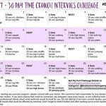 May 30 Day Time Crunch Intervals Challenge