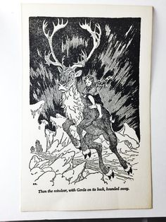 1890s Antique Print by F.R. Andersen's Fairy Tales  by Artimorean