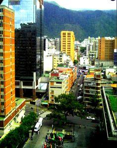 Vista de Caracas. Venezuela