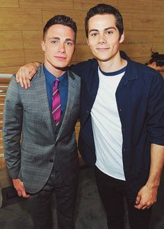 Colton Haynes and Obrien <3