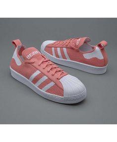 Womens Adidas Superstar 80s Primeknit Ftwr Raw Pink Trainer