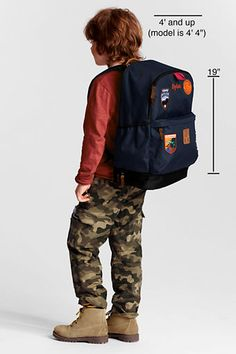 Kids' Patches Dash Pack from Lands' End