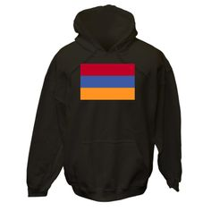 Design shows the Armenian Flag or Flag of Armenia. Great for honoring your love and pride in your ethnic culture, heritage and ancestry. Travelers will love it as a memento of a vacation, holiday or trip. Teachers who think creatively will like some items for teaching tools or aids. Wonderful gift for Christmas, birthday or any special time. $75.99 ink.flagnation.com Looks great on this black hoodie. Design by @Auntie Shoe.