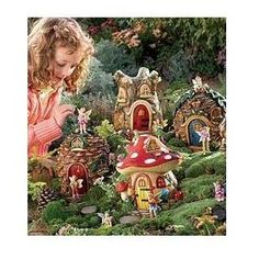 Moss Milkshake, Moss Milkshake. Walking through the forest, we stumbled across a wondrous fairy village. Designed with five different nature themes (Acorn, Pinecone, Mushroom, Honeycomb and Tulip), each of our Fairy Houses incorporates 360 of intricate woodland...