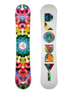 My new Roxy snowboard! Just waiting for the snow now. Snowboard Design, Ski And Snowboard, Freestyle Snowboard, Snowboard Equipment, Ski Equipment, Snowboarding Style, Roxy Surf, Ski Socks, Snow Gear