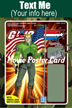 Movie Poster Introduction/Business Card