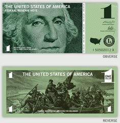 11 Dollar Redesign Ideas - Currency Design Inspiration