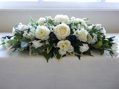 Bird cage flower arrangement sweets Ideas for 2019 Funeral Flower Arrangements, Flower Arrangements Simple, Funeral Flowers, Barn Wedding Centerpieces, Floral Centerpieces, Wedding Decorations, Floral Wedding, Wedding Flowers, Wedding Top Table