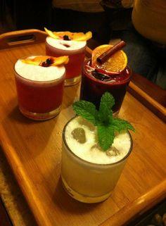 Home made cocktails