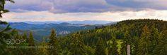 View to Arieş Valley from Gheţari Scărişoara (Transylvania - Romania) by fotozen_66 #landscape #travel