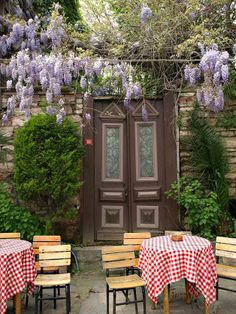 🥀Wisteria and Pierre Loti coffee house, Eyup, Istanbul, Turkey. - Photo by Rezzan Akın. Places Around The World, Around The Worlds, Pierre Loti, Turkish People, Germany Europe, Historical Monuments, The Beautiful Country, Most Beautiful Cities, Wisteria
