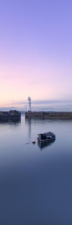 Newhaven Harbour, Edinburgh. Scotland.