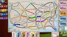 Ticket to Ride Pocket Days Of Wonder, Inc 기차여행 보드게임 Fun Board Games, Fun Games, Games To Play, Game Boards, Ticket To Ride, Ride 2, Best Ipad, New Ipad Pro, Denver