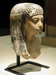 "Meritaten of the eighteenth dynasty of ancient Egypt, circa 1400 bc. She is the daughter of Pharaoh Akhenaten and Queen Nefertiti. Meritaten was an ancient Egyptian queen of the 18th dynasty, who held the position of Great Royal Wife to Pharaoh Smenkhkare, who may have been a brother or son of Akhenaten. Her name means ""She who is beloved of Aten""; Aten being the sun-god her father worshipped. Meritaten may have served as pharaoh in her own right under the name, Ankhkheperure…"