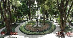 Jardins do Museu Imperial, centro de Petropolis, RJ. #viagem #trip