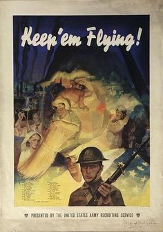American WWII Propaganda Posters