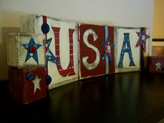 Inspiring Creations: USA Blocks with Tutorial!