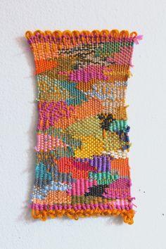 Contemporary weaving or weaving