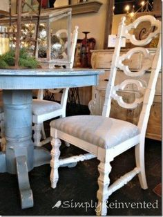 Image result for annie sloan chalk paint pedestal table