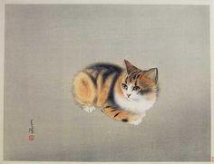 Kitten by Seicho, ca 1930