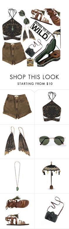 """Desert Rose"" by selin-suar ❤ liked on Polyvore featuring American Apparel, Topshop, AURUM by Guðbjörg, Topman, Forever 21, NOVICA, Free People, Madewell and Ted Baker"