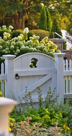 Landscaping gate and garden