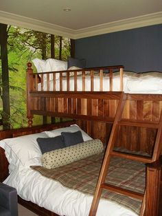 Bunk Beds by  Cotton Tree Interiors T: (+44)1728 604700