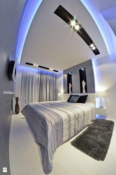 Mieszkanie Gdańsk - 48m2 - 2014 - Średnia sypialnia małżeńska, styl nowoczesny - zdjęcie od Studio86