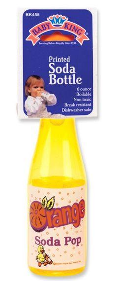 Baby King Printed Soda Bottle Bpa Free