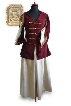 KONTUSIK Prenda similar al Kontousch, usada por la mujeres; lleva mangas de cuchillo y viene rematada en piel.