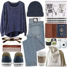 """""""aeroplane over the sea"""" by bluevelvetmoon on Polyvore"""
