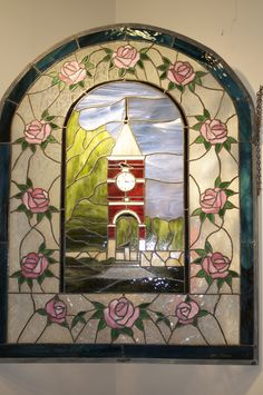 Ravenscroft Bell Tower Stained Glass