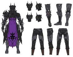 Dark Knight Backside from Final Fantasy XIV: Stormblood